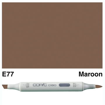 Happymade - Copic Ciao - Fv. E77 - Maroon