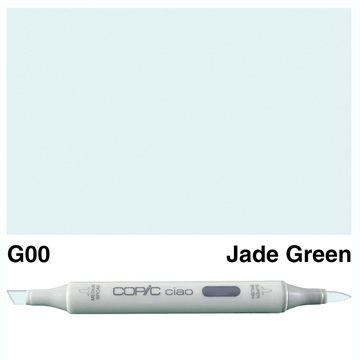 Happymade - Copic Ciao - Fv. G00 - Jade Green