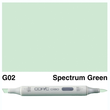 Happymade - Copic Ciao - Fv. G02 - Spectrum Green