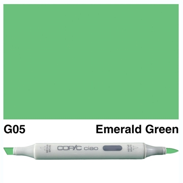 Happymade - Copic Ciao - Fv. G05 - Emerald Green