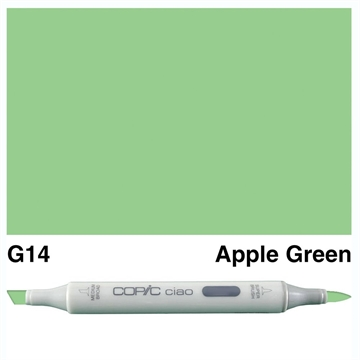 Happymade - Copic Ciao - Fv. G14 - Apple Green