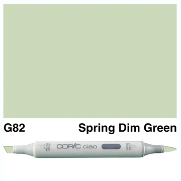 Happymade - Copic Ciao - Fv. G82 - Spring Dim Green