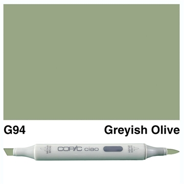 Happymade - Copic Ciao - Fv. G94 - Greyish Olive