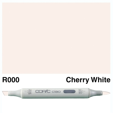Happymade - Copic Ciao - Fv. R000 - Cherry White