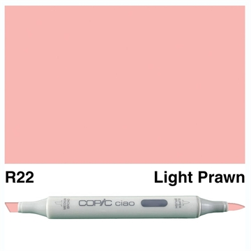 Happymade - Copic Ciao - Fv. R22 - Light Prawn