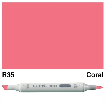 Happymade - Copic Ciao - Fv. R35 - Coral