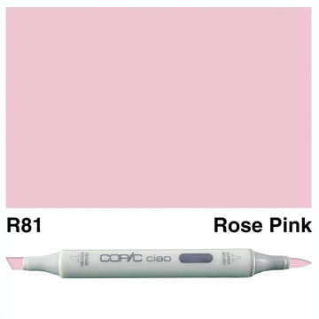 Happymade - Copic Ciao - Fv. R81 - Rose Pink