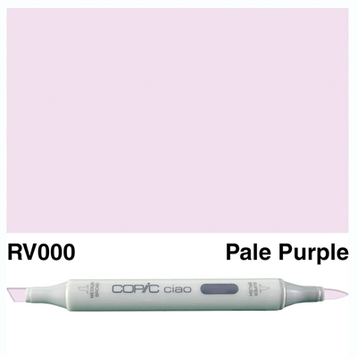 Happymade - Copic Ciao - Fv. RV000 - Pale Purple