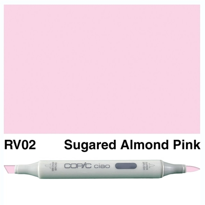Happymade - Copic Ciao - Fv. RV02 - Sugared Almond Pink