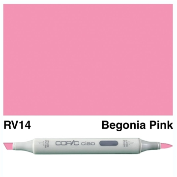 Happymade - Copic Ciao - Fv. RV14 - Begonia Pink