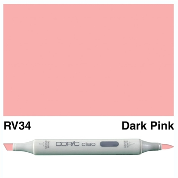 Happymade - Copic Ciao - Fv. RV34 - Dark Pink