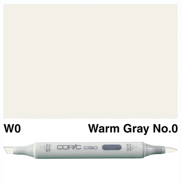 Happymade - Copic Ciao - Fv. W0 - Warm Gray 0