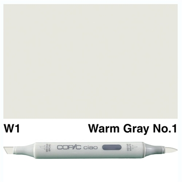 Happymade - Copic Ciao - Fv. W1 - Warm Gray 1