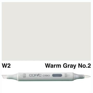 Happymade - Copic Ciao - Fv. W2 - Warm Gray 2