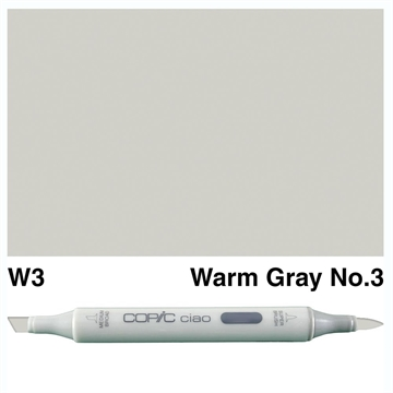 Happymade - Copic Ciao - Fv. W3 - Warm Gray 3