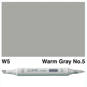 Happymade - Copic Ciao - Fv. W5 - Warm Gray 5