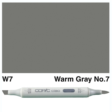 Happymade - Copic Ciao - Fv. W7 - Warm Gray 7