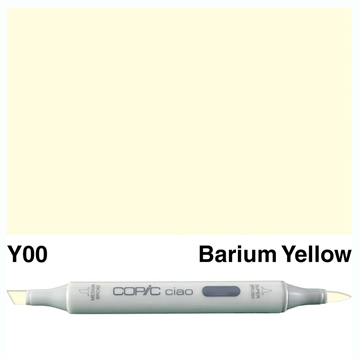 Happymade - Copic Ciao - Fv. Y00 - Barium Yellow