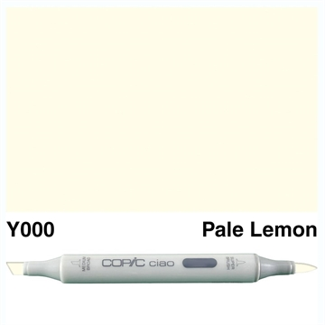 Happymade - Copic Ciao - Fv. Y000 - Pale Lemon