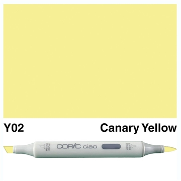 Happymade - Copic Ciao - Fv. Y02 - Canary Yellow
