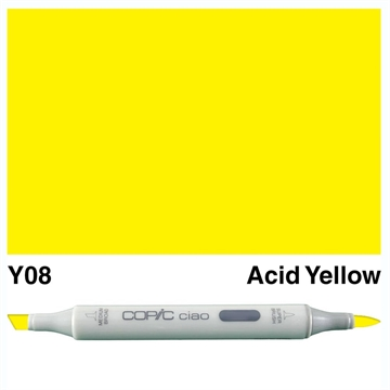 Happymade - Copic Ciao - Fv. Y08 - Acid Yellow