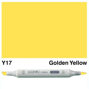 Happymade - Copic Ciao - Fv. Y17 - Golden Yellow