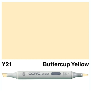 Happymade - Copic Ciao - Fv. Y21 - Buttercup Yellow