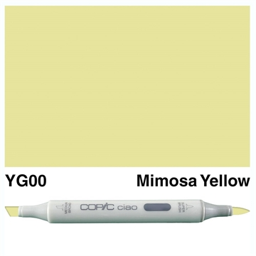 Happymade - Copic Ciao - Fv. YG00 - Mimosa Yellow