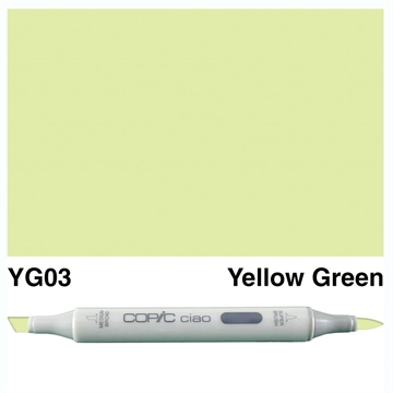 Happymade - Copic Ciao - Fv. YG03 - Yellow Green