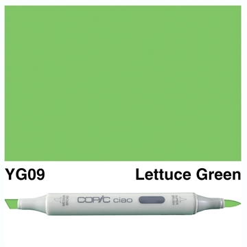 Happymade - Copic Ciao - Fv. YG09 - Lettuce Green