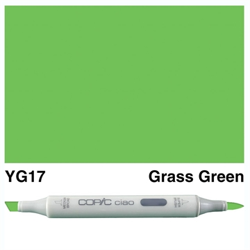Happymade - Copic Ciao - Fv. YG17 - Grass Green