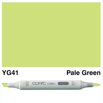 Happymade - Copic Ciao - Fv. YG41 - Pale Green