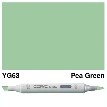 Happymade - Copic Ciao - Fv. YG63 - Pea Green