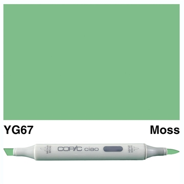 Happymade - Copic Ciao - Fv. YG67 - Moss