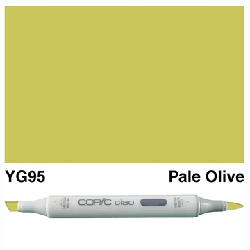 Happymade - Copic Ciao - Fv. YG95 - Pale Olive