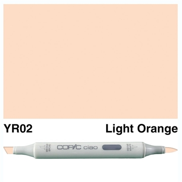 Happymade - Copic Ciao - Fv. YR02 - Light Orange