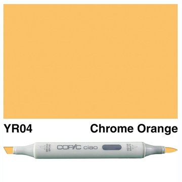 Happymade - Copic Ciao - Fv. YR04 - Chrome Orange