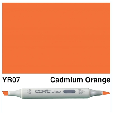 Happymade - Copic Ciao - Fv. YR07 - Cadmium Orange