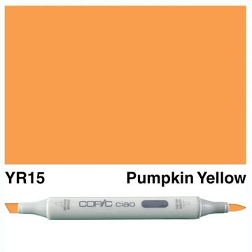 Happymade - Copic Ciao - Fv. YR15 - Pumpkin Yellow