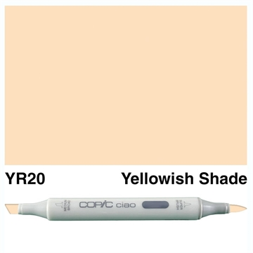Happymade - Copic Ciao - Fv. YR20 - Yellowish Shade