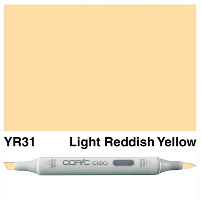 Happymade - Copic Ciao - Fv. YR31 - Light Reddish Yellow