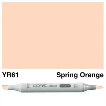 Happymade - Copic Ciao - Fv. YR61 - Spring Orange