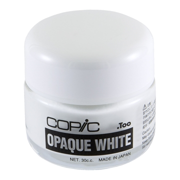 Happymade - Copic - Opaque White - Krukke (30ml)