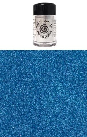 Happymade - Cosmic Shimmer - Sparkle Shakers - Blue Silk - 10ml.