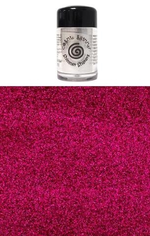 Happymade - Cosmic Shimmer - Sparkle Shakers - Cerise Pink - 10ml.