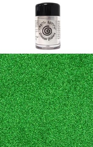 Happymade - Cosmic Shimmer - Sparkle Shakers - Emerald Green - 10ml.