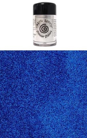 Happymade - Cosmic Shimmer - Sparkle Shakers - Imperial Blue - 10ml.