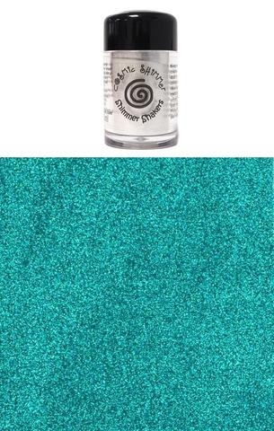 Happymade - Cosmic Shimmer - Sparkle Shakers - Peacock Satin- 10ml.