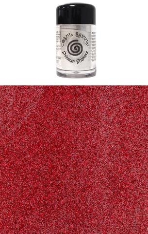 Happymade - Cosmic Shimmer - Sparkle Shakers - Ruby Red - 10ml.
