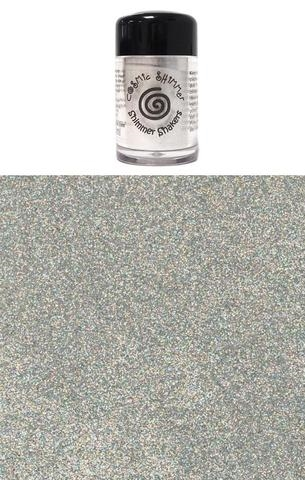 Happymade - Cosmic Shimmer - Sparkle Shakers - Silver Rainbow - 10ml.